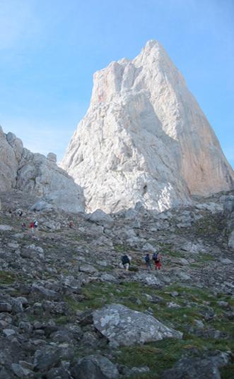 Escalada en el Pico urirellu