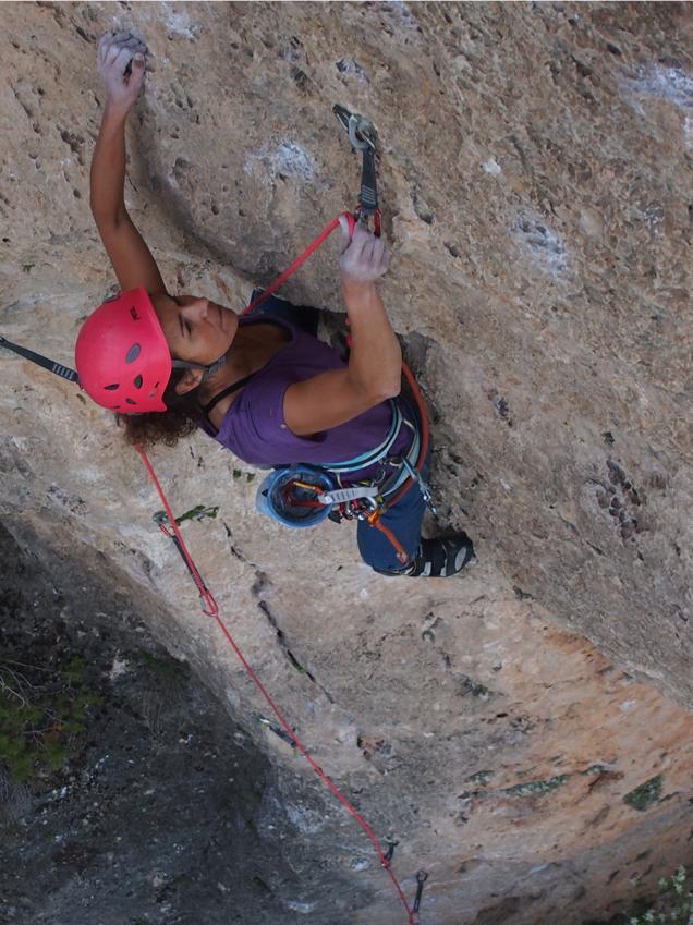 Curso intensivo iniciación escalada deportiva Toledo