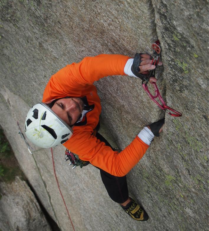 Curso de escalada clásica en España