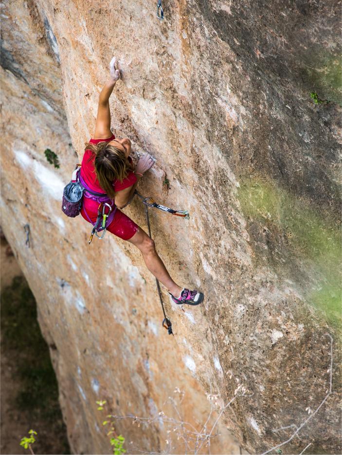 Curso de tecnificación de escalada en España