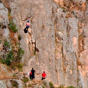 Cursos de escalada en Toledo
