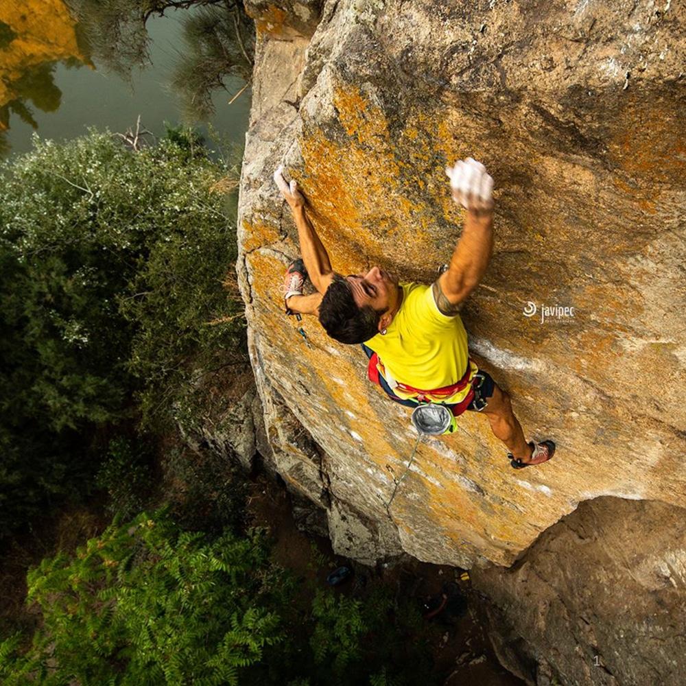 Guía de escalada en Toledo