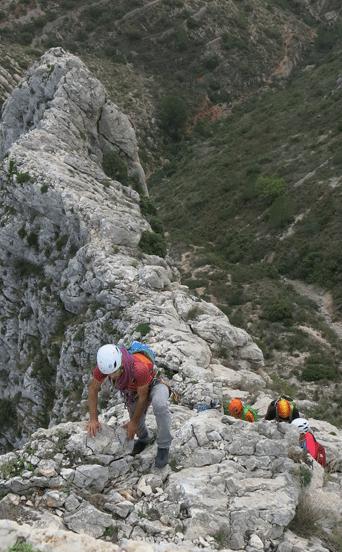 Crestas de Bernia y Benicadell Alicante