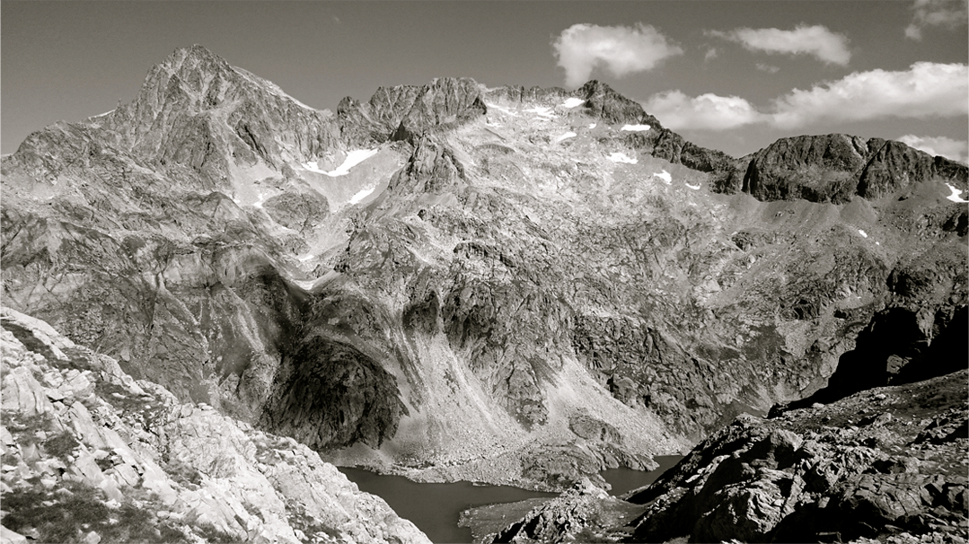 Cresta del Diablo Balaitus Pirineos